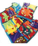 McCall's M6411 Child's Fleece Monster Quilt & Pillowcase Pattern - $9.99