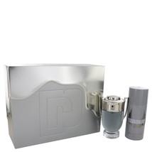 Paco Rabanne Invictus Cologne 3.4 Oz Eau De Toilette Spray 2 Pcs Gift Set  image 1