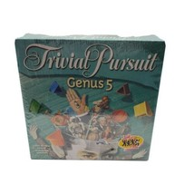 Hasbros TRIVIAL PURSUIT GENUS 5 Edition 4800 New Questions New Sealed - $29.95