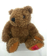 Lane Bryant 1997 Collector's Holiday Brown Curly Hair Seated Teddy Bear ... - $12.16