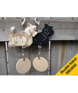 Scottish Terrier Deluxe crate tag, decor dog canine ornament art Pick yo... - $20.00