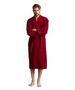 Men's Robe, Turkish 100% Cotton Terry Spa Bathrobe With Belt - Choose SZ... - $37.69+