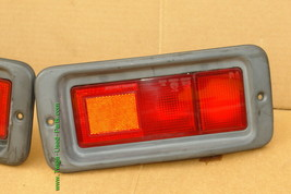 Mitsubishi Nativa Montero Sport Euro Rear Bumper Fog Light Panel 97-99 Set L&R image 2