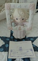 Precious Moments 1996 Figurine C0016 You're As Pretty As A Picture NIB - $17.00