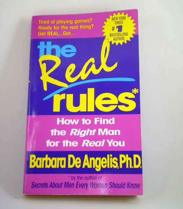 Primary image for The Real Rules by Barbara De Angelis, Ph.D.