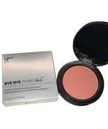 It Cosmetics Bye Bye Pores Blush Naturally Pretty Full Size Pressed Powd... - $15.99