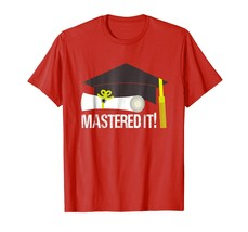New Shirts - Mastered It Masters Degree shirt Graduation Gift For Her Him Men - $19.95+