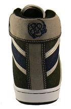 Public Royalty Nero Blu Zaq Alto Top Jeans Sneaker Scarpe Nib image 4