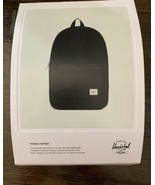 Herschel Supply Company Packable Daypack in Black 24.5 Liters 17.75 x 12.25 x 5