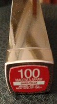 Maybelline New York Color Sensational Shine Lipstick #100 MAGENTA AFFAIR... - $3.00