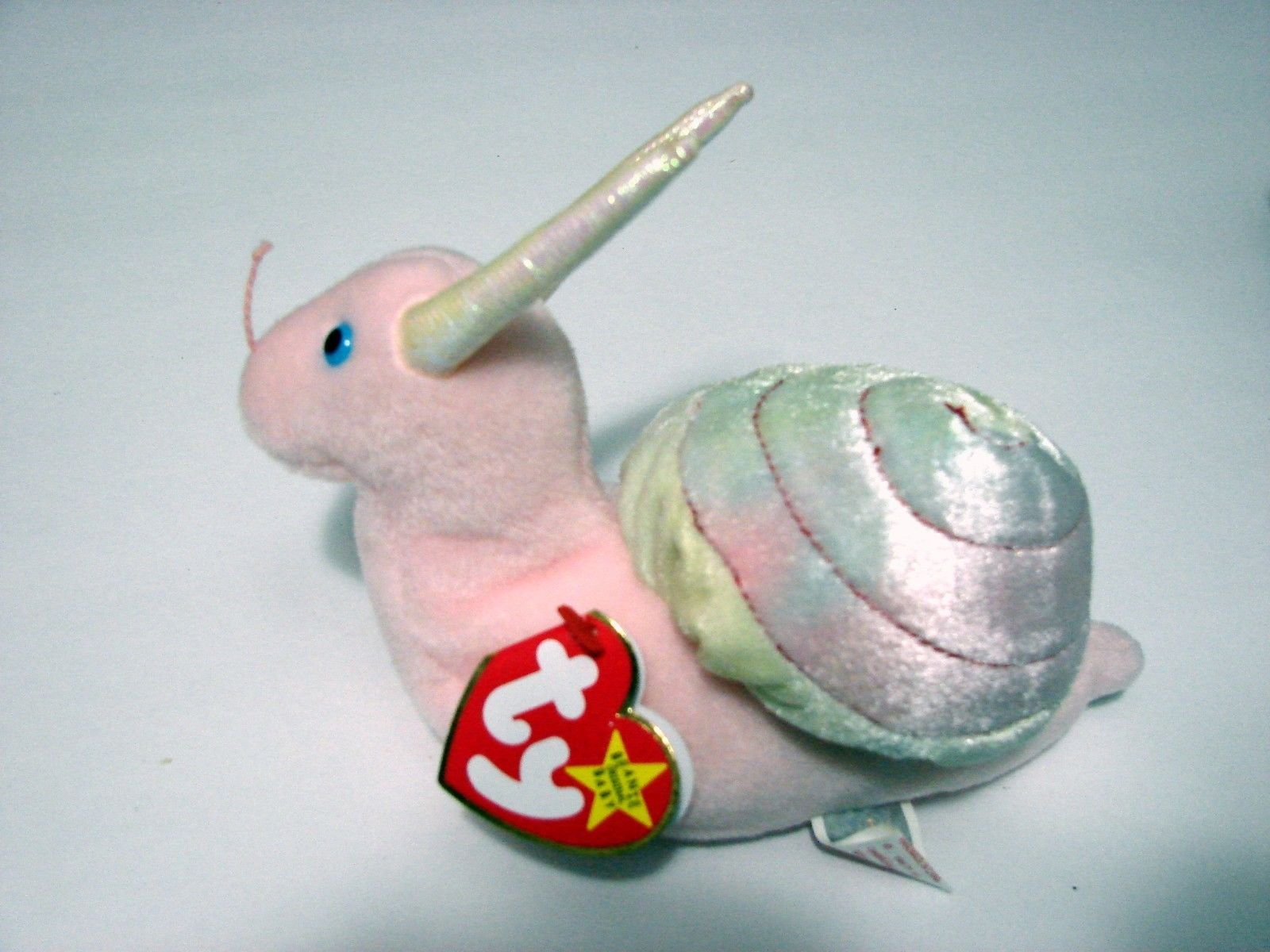 8e29122f303 1999 TY Beanie Baby SWIRLY the Snail Never and similar items. S l1600