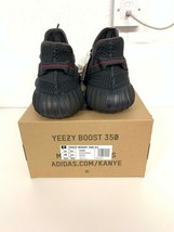 Adidas Yeezy 350 Boost FU9006 12.5 UK 13 US Triple Black bred calabasas 350 700 image 2