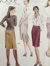 Vogue Sewing Pattern 7937 Misses Petite Skirt Size 6-10 New - $15.44