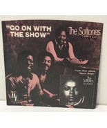 """SOFTONES Go On With The Show 45 rpm 7"""" Single Record PROMO w/ PS H&L 197... - $10.84"""