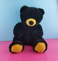 "Wishpets 2015 Black Plush Juniper Teddy Bear Stuffed Animal 16""  #A41 - $9.89"