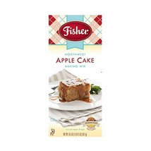 Fisher All Natural Northwest Apple Cake Mix, 16.5 Ounces, Pack of 3 - $31.86