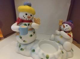 Final Sale--PartyLite Snowbell Kids Votive Candle Holder w/Original Box P7869-xp - $5.00