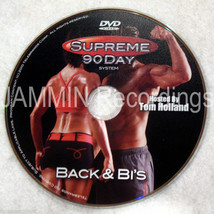 SUPREME 90 DAY WORKOUT - Back & Bi's (Biceps) - New DVD - Shot In HD - $9.73