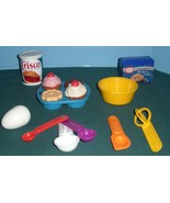 Vintage Fisher Price Fun with Food #6502 Baking Fun  Complete/EXC+++ (F) - $48.00