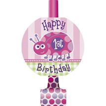 1st Birthday Ladybug Pink 8 ct Blowouts - $3.27 CAD