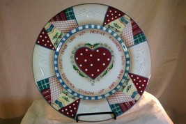 Home Interiors Heartwarming Holiday Dinner Plate - $6.92
