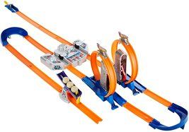 Hot Wheels Track Builder Total Turbo Takeover Track Set Kids Children Exclusive - $69.99