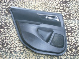 2014 NISSAN ALTIMA LEFT REAR DOOR TRIM PANEL