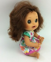 "Baby Alive Real Surprises 2012 Girl Doll Hasbro English Spanish 15"" Brun... - $82.09"
