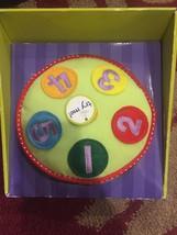 Manhattan Toy Rockin' Sounds Drum Plush Musical Baby Toddler Toy NEW! - $18.65