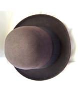 Vintage Bonar- Phelps Derby Hat Brown Moisture Resistant Hat Size Small ... - $64.99