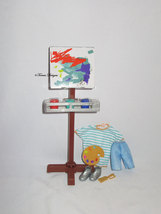 Boy Doll Outfit and More from Barbie Team Stacie Art Class Playset Gift ... - $14.99