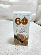 Billion Dollar Brows 60 Seconds To Beautiful Brows Taupe Powder & Brush ... - $4.95