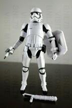 "First Order Riot Control Stormtrooper Star Wars 6"" Black Series Loose Target - $15.99"
