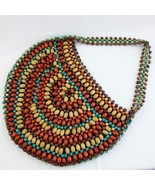 Handcrafted Beaded Purse Tote - $14.50