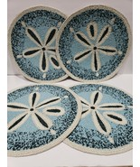 Coastal Collection Beach Sand Dollar Beaded Chargers Placemats Home Deco... - $129.99