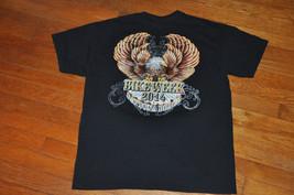 Daytona Beach Florida Bike Week 2014 Harley Davidson Motorcycle Shirt La... - $17.99