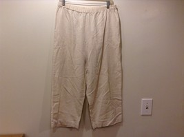 Hot Cotton Petite Cropped Relaxed Yoga Workout Pants Sz M - $44.55