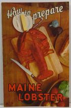 How to Prepare Maine Lobster The Maine Department of Sea and Shore Fishe... - $3.99
