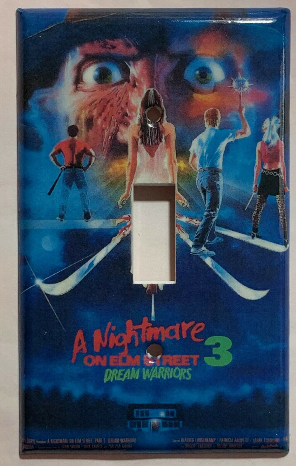 Nightmare ELM Street Dream Light Switch Power Outlet wall Cover Plate Home Decor