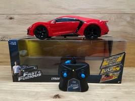 Car Fast & Furious Jada R/C Lykan Hypersport MB 1:24 Scale - $29.69