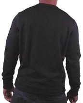 Dope Couture Mens Black Sub-Zero Ice Cold Fleece Crewneck Sweatshirt Sweater NWT image 2