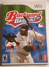 Nintendo Wii - Backyard Baseball '09 (Complete with Manual) - $6.75