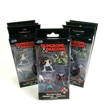 7 X DUNGEONS & DRAGONS DIE CAST FIGURINES DRIZZT MIND FLAYER (Lot Of 7) - $39.95
