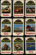 9 x Lot Mini-Trumps Fact Cards: Tanks; Dragsters; Jumbo Jets; Sports/Rac... - $21.01