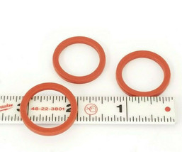 LOT OF 3 NEW FEDEGARI PP600062 SILICONE GASKETS 7/8'' IN. ID 1-1/8'' IN. OD