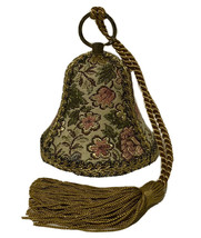Reuge Musical Victorian Tapestry Bell Christmas Plays Oh Come All Ye Fai... - $54.44