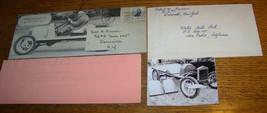 c1960 VINTAGE FORD TORPEDO MODEL T PHOTO BROCHURE LOT DANSVILLE NY - $29.69