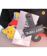 pokemon pikachu hat from hot topic -new - yellow / black - mens adult cl... - $9.95