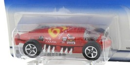 1998 Hot Wheels First Editions Red Lakester Land Speed Race Car