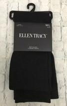 Ellen Tracy Women's Tights Chocolate Brown 1 Pair Fleeced Footless Size ... - $15.00